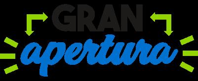 logotipo gran apertura