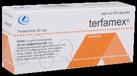 Terfamex 30Mg 30 Cápsulas | Farmacia San Pablo
